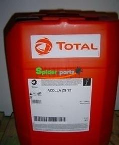 Гидравлическое масло AZOLLA ZS 32 20л TOTAL 9919514